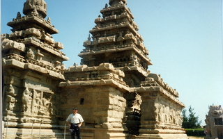 21 35o. Satish-Geeta wedding in Madras, India - temples in Mahabalipuram