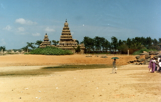 22 35o. Satish-Geeta wedding in Madras, India - temples in Mahabalipuram
