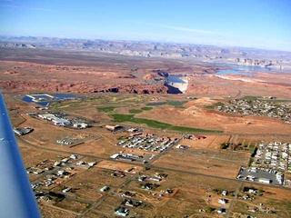 51 59p. Glen Canyon Dam - aerial