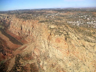 43 59p. Echo Cliffs - aerial
