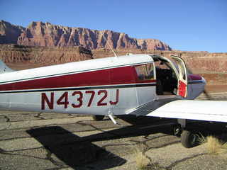 45 59p. N4372J at Marble Canyon