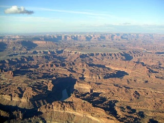 88 59p. Canyonlands National Park - aerial