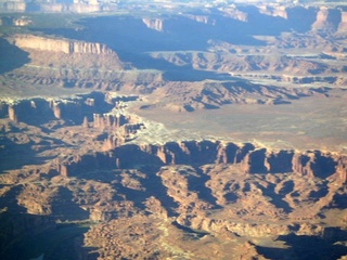 89 59p. Canyonlands National Park - aerial