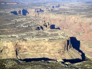75 59p. Colorado River canyon - aerial