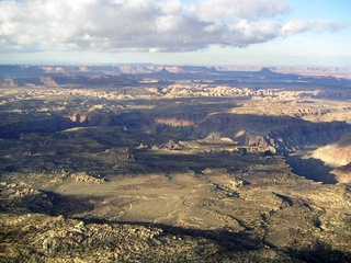 81 59p. Colorado River canyon area - aerial