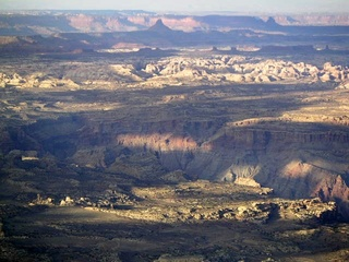 82 59p. Colorado River canyon area - aerial