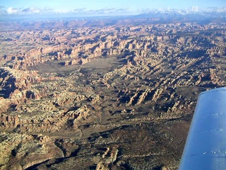 84 59p. Canyonlands National Park - aerial
