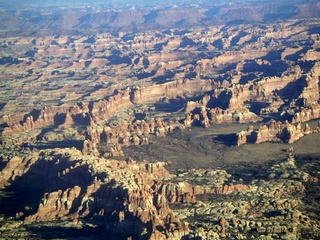 85 59p. Canyonlands National Park - aerial