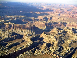 86 59p. Canyonlands National Park - aerial