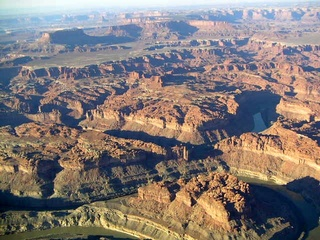 87 59p. Canyonlands National Park - aerial