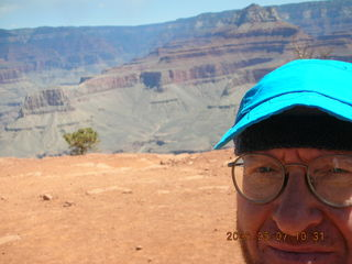 18 5t7. view from South Kaibab trail -- Ceder Ridge -- Adam