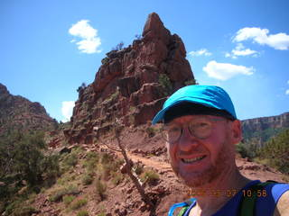 26 5t7. view from South Kaibab trail -- O'Neal Butte -- Adam