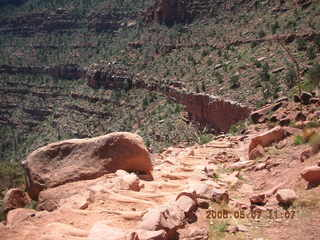 35 5t7. view from South Kaibab trail