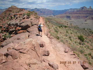 42 5t7. view from South Kaibab trail -- Greg hiking