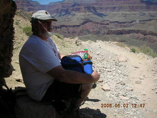 86 5t7. view from South Kaibab trail -- Greg