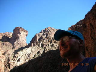 156 5t7. North Kaibab trail from Phantom Ranch