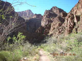 160 5t7. North Kaibab trail from Phantom Ranch