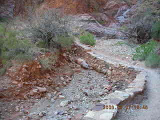 163 5t7. North Kaibab trail from Phantom Ranch