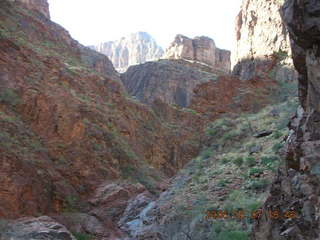 165 5t7. North Kaibab trail from Phantom Ranch