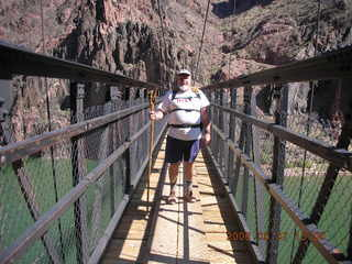 129 5t7. Black Bridge across Mightly Colorado River -- Greg