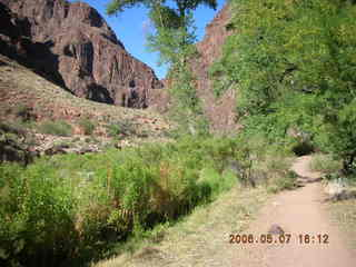 140 5t7. North Kaibab trail from Phantom Ranch