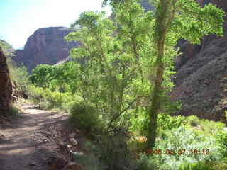 142 5t7. North Kaibab trail from Phantom Ranch