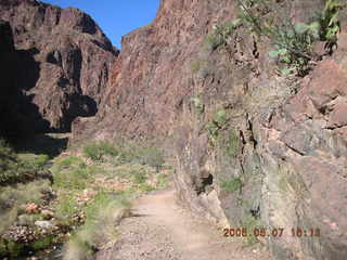 144 5t7. North Kaibab trail from Phantom Ranch