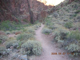 177 5t7. North Kaibab trail from Phantom Ranch