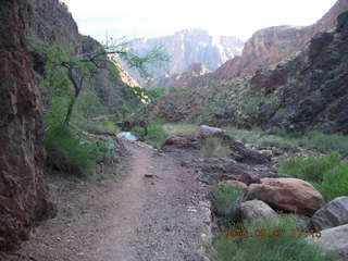 179 5t7. North Kaibab trail from Phantom Ranch