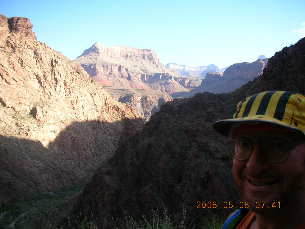 view from Bright Angel trail -- Adam
