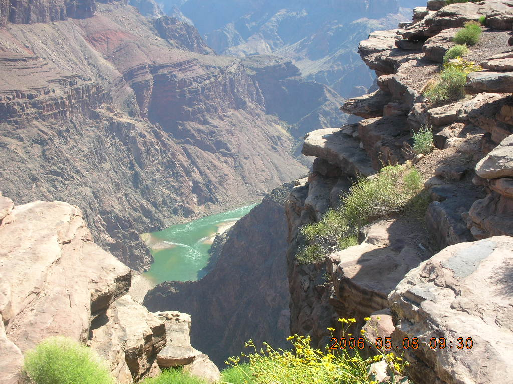 Plateau Point -- Mighty Colorado River