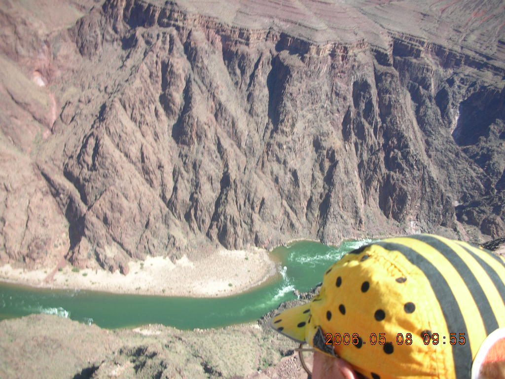 Plateau Point -- Mighty Colorado River -- Adam's cap