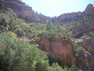 view from Bright Angel trail
