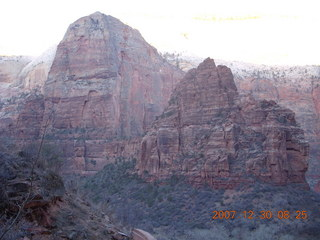 64 6cw. Zion National Park- Observation Point hike - Angels Landing