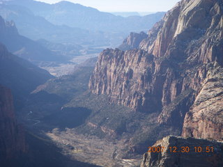 167 6cw. Zion National Park- Observation Point hike - view from the top