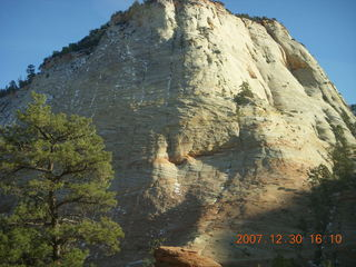 376 6cw. Zion National Park - driving on the road