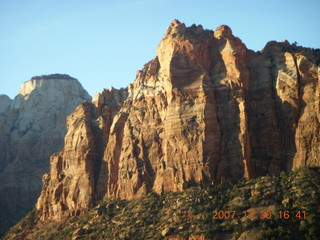 427 6cw. Zion National Park - driving on the road