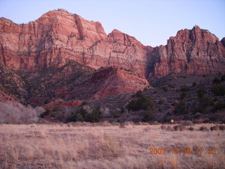 450 6cw. Zion National Park - Watchman Trail hike at sunset