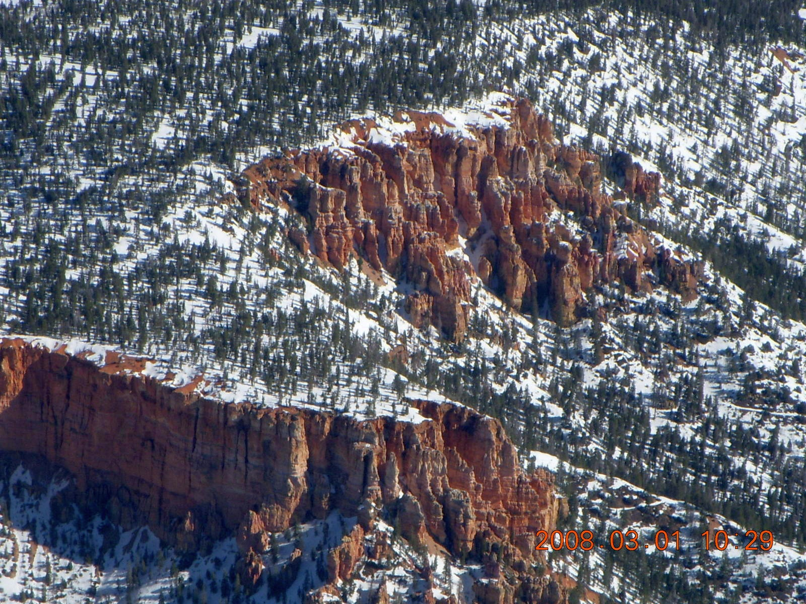 aerial - Bryce Canyon