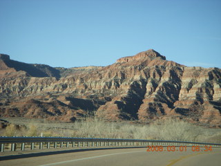 driving around Hurricane, Utah