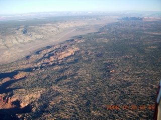 aerial - north of Grand Canyon