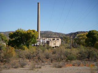 127 6pf. Verde Canyon - Sycamore Canyon Road run - power plant?