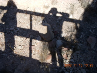 235 6pf. Verde Canyon Railroad - my shadow