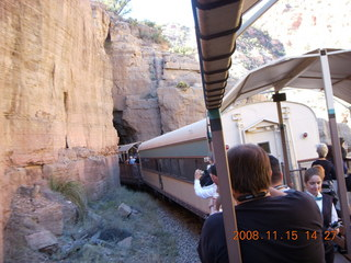 Verde Canyon Railroad - tunnel