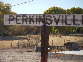 335 6pf. Verde Canyon Railroad - Perkinsville station
