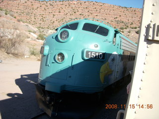 341 6pf. Verde Canyon Railroad - engine switching