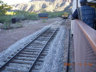 368 6pf. Verde Canyon Railroad - parallel rail and machines