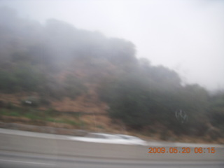 1 6vl. fog and low clouds over Santa Monica
