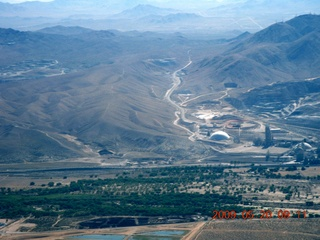 53 6vl. aerial - mining operation near Apple Valley Airport (APV)