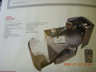 6 6xl. China eclipse - United first class seat diagram